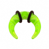4mm UV curl stretcher, bright yellow (Code 0950)